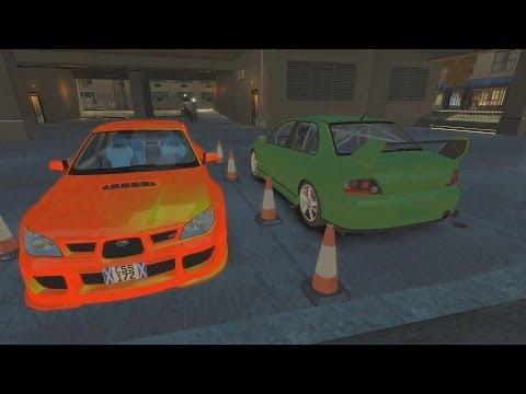 GTA 4 - AMAZING Drifting Gymkhana FIVE (Evo V's Subaru)