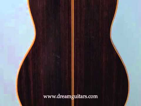 1986 Conde Hermanos Flamenco Negra Rosewood/Spruce at Dream Guitars