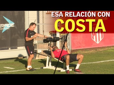 El nuevo y cómico nivel en la intensa relación entre Diego Costa y 'El Profe' Ortega | Diario AS