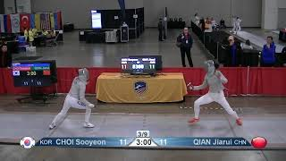 2019 Absolute Sabre World Cup Quarters: Korea vs. China