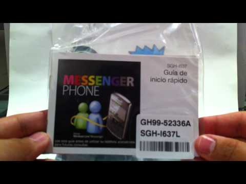 Unboxing Samsung SGH-i637 Jack By DroidStore