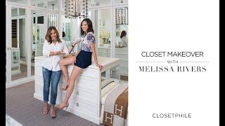 CLOSETPHILE - Melissa Rivers Closet Makeover