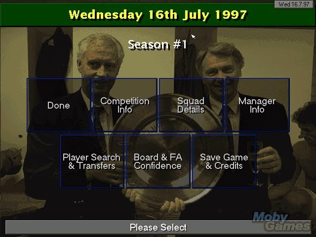 GrandOldTeam - play Champ Man 97/98 with current EFC Squad!