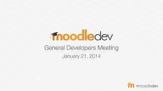 General Developers Meeting, Jan 2014 [concurrent Chat log] thumbnail