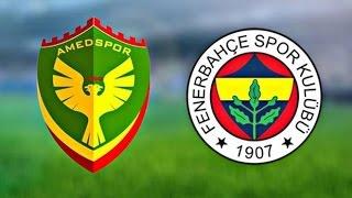 Amedspor - Fenerbahçe Maçında Şok Protesto