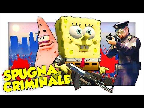SPONGEBOB ARRIVA A LOS SANTOS! - GTA 5 ITA Funny Moments