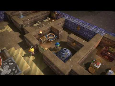 Dragon Quest Builders [PS4] Commentary #053, Ch. 3: Base Level 3; Double-Barrelled Bombard