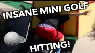 INSANE MINI GOLF HITTING! Asian Tiger Woods! Vlog #11 | JOYSTICK thumbnail