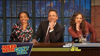 Jokes Seth Can't Tell: African-Americans and Trump, Women's History Month