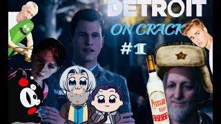 DETROIT ON CRACK #1 -  Шерлок Коннор и Доктор Хэнк