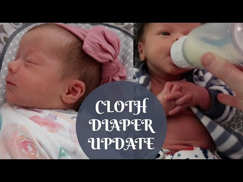 LET THE CLOTH DIAPERING BEGIN!