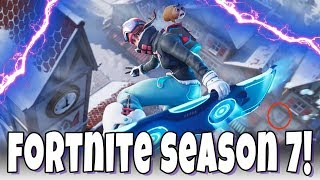 Fortnite Season 7 Is Almost Over! Completing Battle Pass Challenges & Leveling Up!