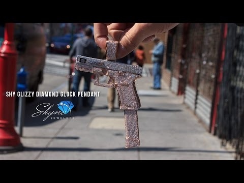 Shyne Jewelers Shy Glizzy Diamond Gun Pendant
