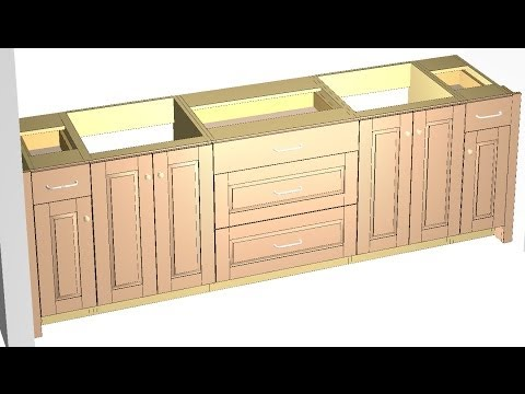 Barker Cabinets- vanity sink cabinet standards, how to
