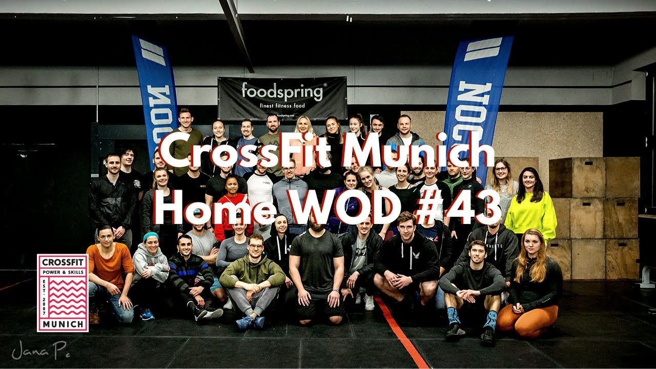 CrossFit Munich Home WOD #43