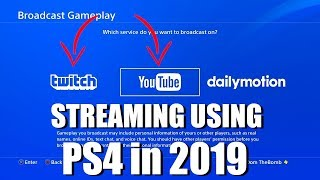 How to Stream to Twitch or Youtube from PS4 in 2019