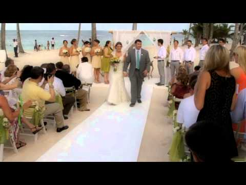 Video Punta Cana - March 1 2014 JELLYFISH Punta Cana Trailer Wedding