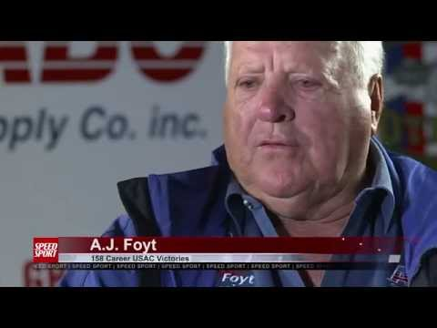 A.J. Foyt Interview - SPEED SPORT Magazine Episode 1 Part 4 - MAVTV
