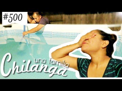 """LA PISCINA ESTA SUCIA Y SE NOS ESCAPO EL PERRO =( !!VLOGS DIARIOS #500 """"Una Familia Chilanga"""""""