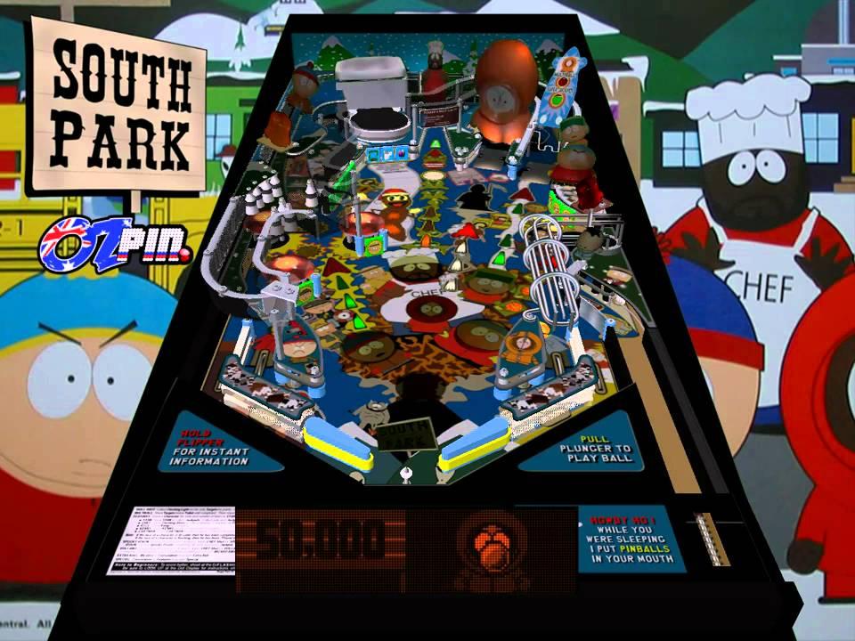 Visual Pinball: South Park