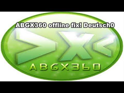 ABGX360 offline fix! |Deutsch|German|