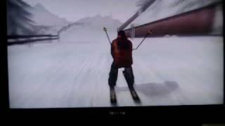 【PS3】Go! Sports Ski コース1ギア2雪 全開アタック