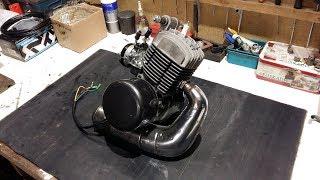 Remontage complet moteur AV7 Mobylette MOTOBECANE