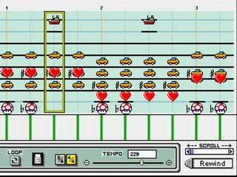 how to use mario paint composer