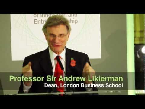 Funding Entrepreneurship: Talented Graduates Start-ups at London Business School