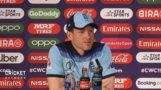 Morgan gives short shrift at press conference