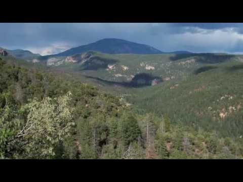 Majestic Vistas of the Valles Caldera in the Jemez Mountains of New Mexico