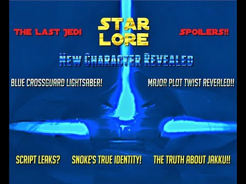 Star Wars The last Jedi Story Revealed - New Character - Plo