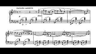Tchaikovsky - Romance in F Minor, Op. 5 - Sviatoslav Richter Piano