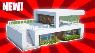 Minecraft : How T๐ Build a Small Modern House Tutorial (#16)