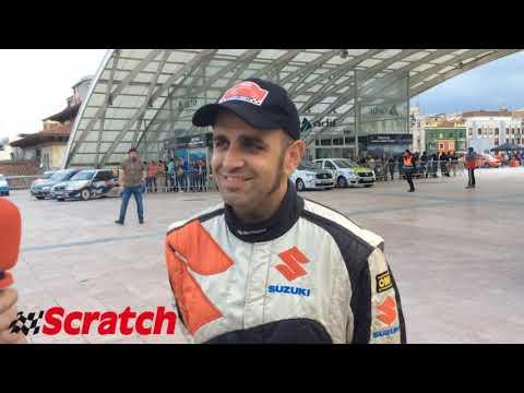 Fredy Tames tras el Rallye Princesa de Asturias 2017