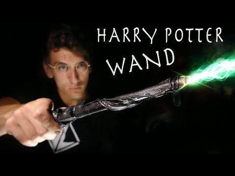 How To Make a Working HARRY POTTER WAND!!! Real Life Spells!