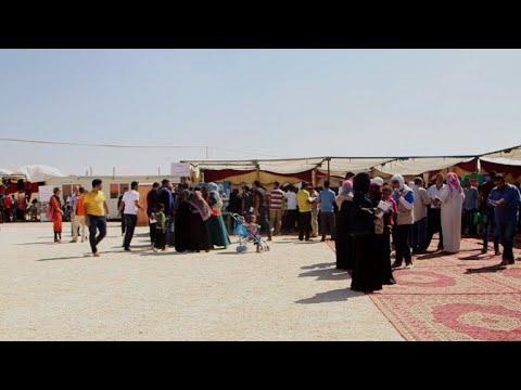 Job fair offers hope for Syria refugees in Jordan