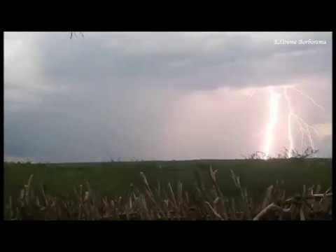 Tempestade de raios próximo a Reriutaba-CE (04/01/2020)