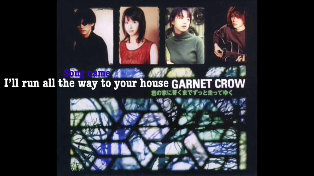 Garnet Crow 君の家に着くまでずっと走ってゆく English sub HD - YouTube