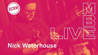 "Nick Waterhouse performing ""Man Leaves Town"" live on KCRW"