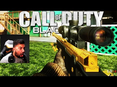 ORIGINAL Black Ops 1 GUN GAME . . . (RAGE)