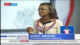 Guest Anchor: The Maasai Cricket Warriors