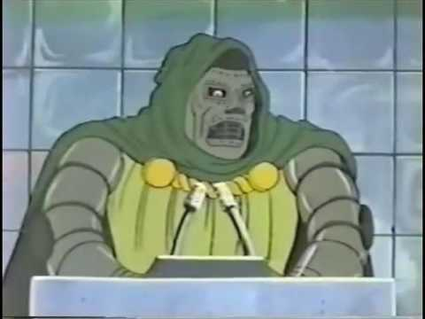 Doctor Doom Speaks to the United Nations