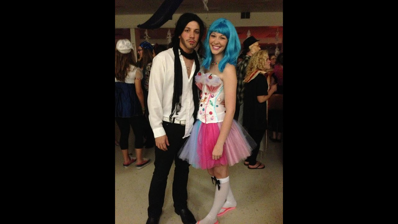 Katy Perry and Russell Brand Halloween costume!  sc 1 st  YouTube & Katy Perry and Russell Brand Halloween costume! - YouTube