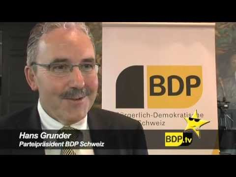 Gründung der Bürgerlich-Demokratischen Partei BDP Schweiz - 2008