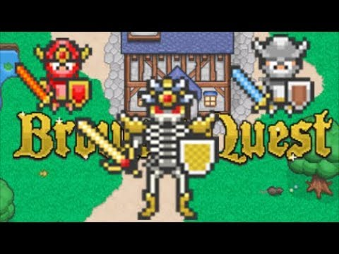 Browser Quest Lets Play 100% (No Commentary) Free MMORPG