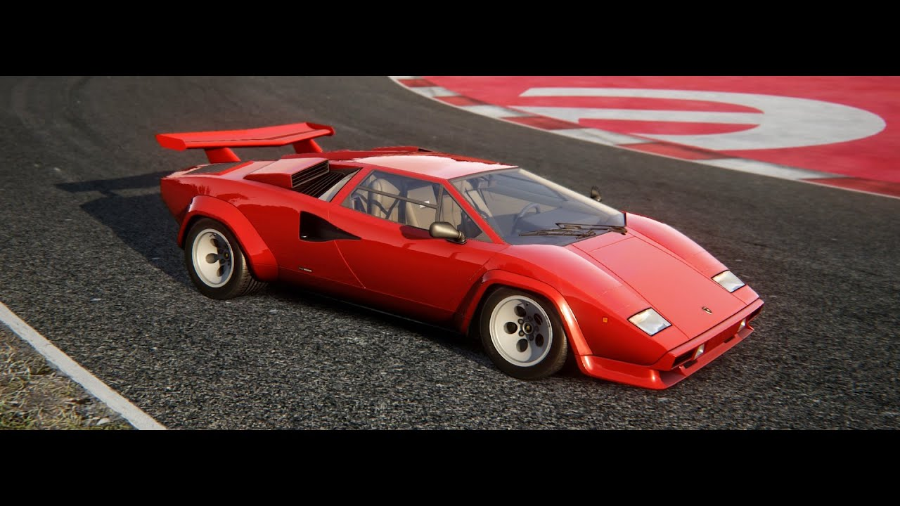 assetto corsa dream pack 2 lamborghini countach 5000 qv