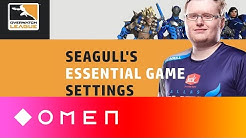Seagull's Most Important Overwatch Settings | OMEN