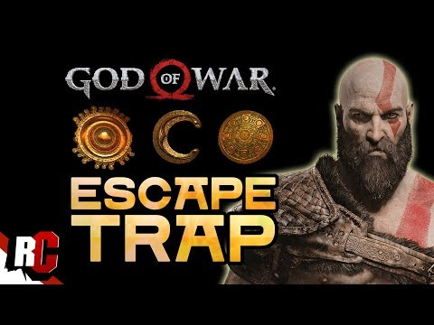 God of War | How to Escape the TRAP (Deactivating The Vault's Defenses + Solving Chain Puzzle)