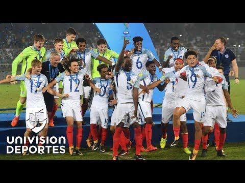 Inglaterra se proclama Campeón del Mundo Sub 17 tras pasar sobre España